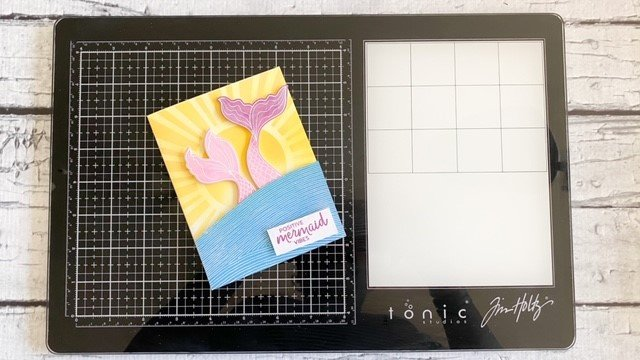 Positive Mermaid Vibes + Glass Media Mat Review {New Video}