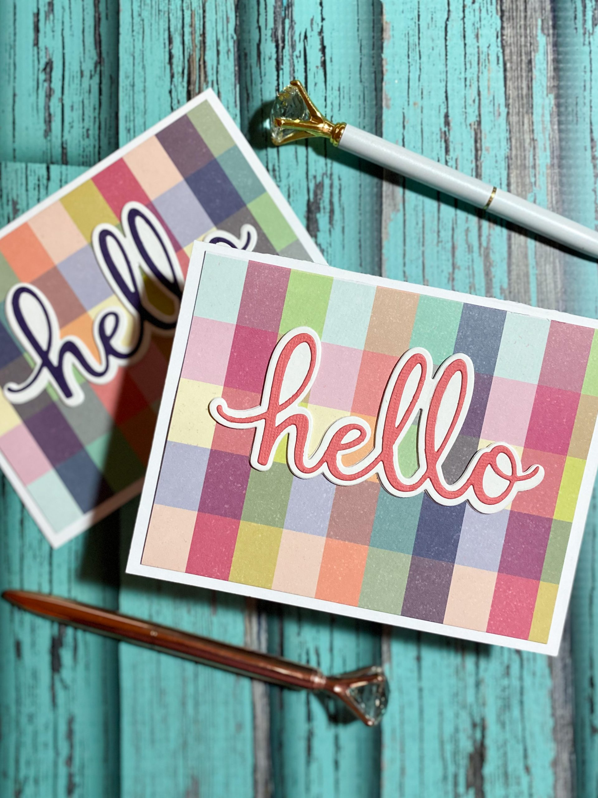 Raid Your Stash: Pattern Paper Cards